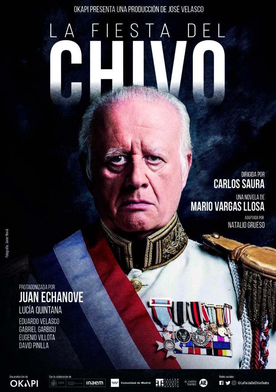 Teatro: La fiesta del Chivo en Teatro Infanta Isabel en Madrid