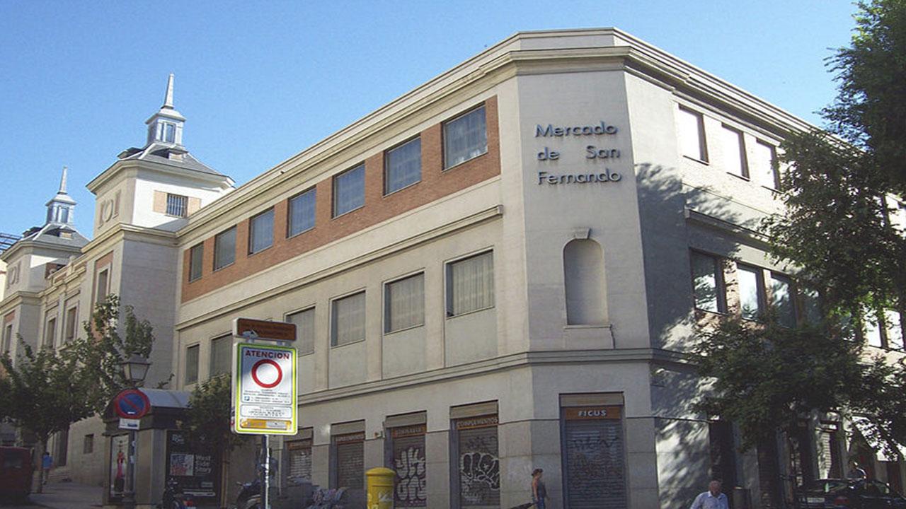Mercado de San Fernando de Madrid