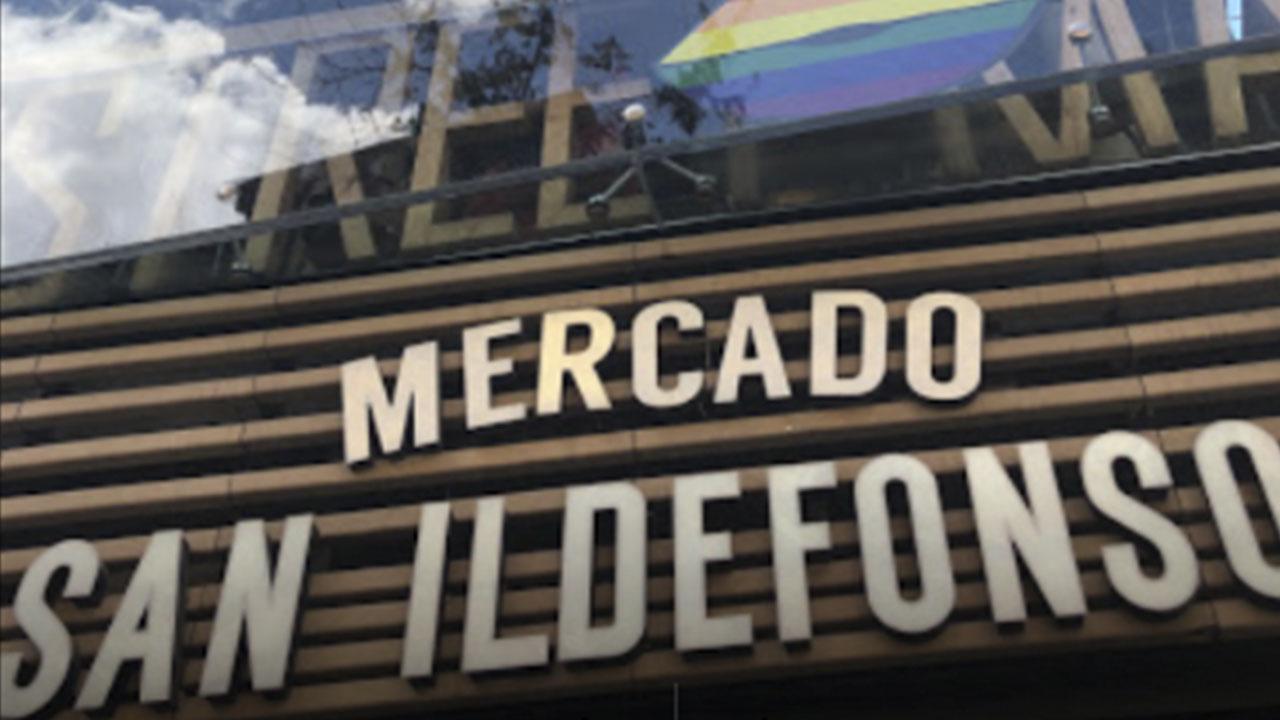 Mercado de San Ildefonso Madrid Google Maps