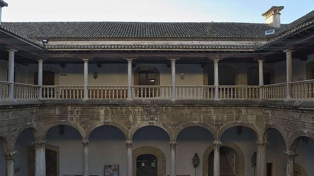 Patio de los Marmoles Hospital Real de Granada