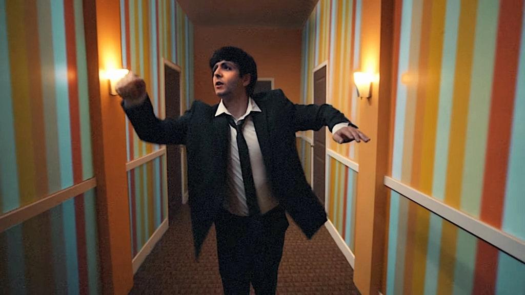 Paul McCartney joven Beck
