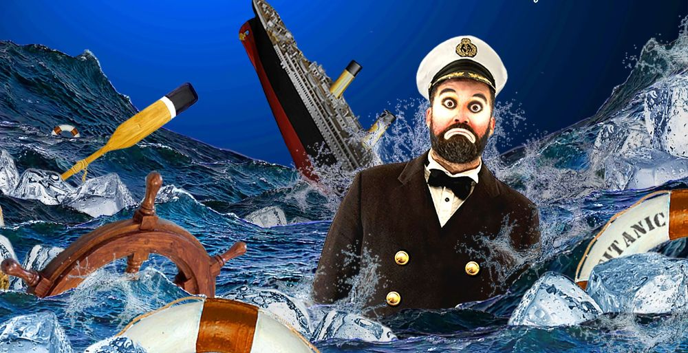 Titanic, espectáculo de magia para niños en Baiona