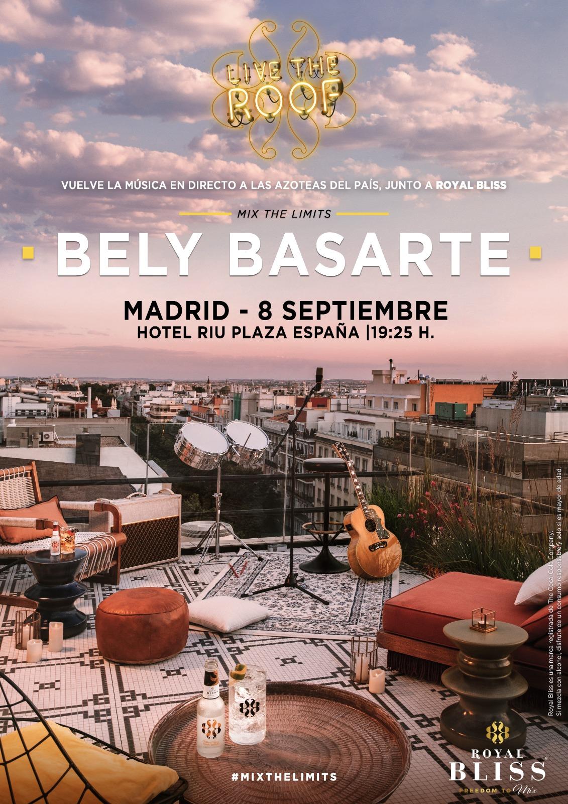 bely basarte en live the roof madrid 16261654450350401