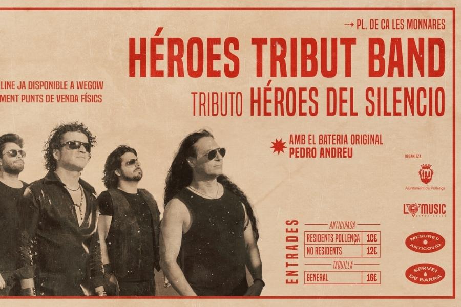 heroes tribut band tributo heroes del silencio en pollenca mallorca 16254922665845978