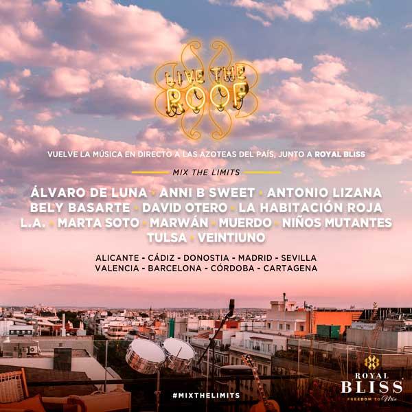 live the roof la mejor musica en directo a ras del cielo de madrid