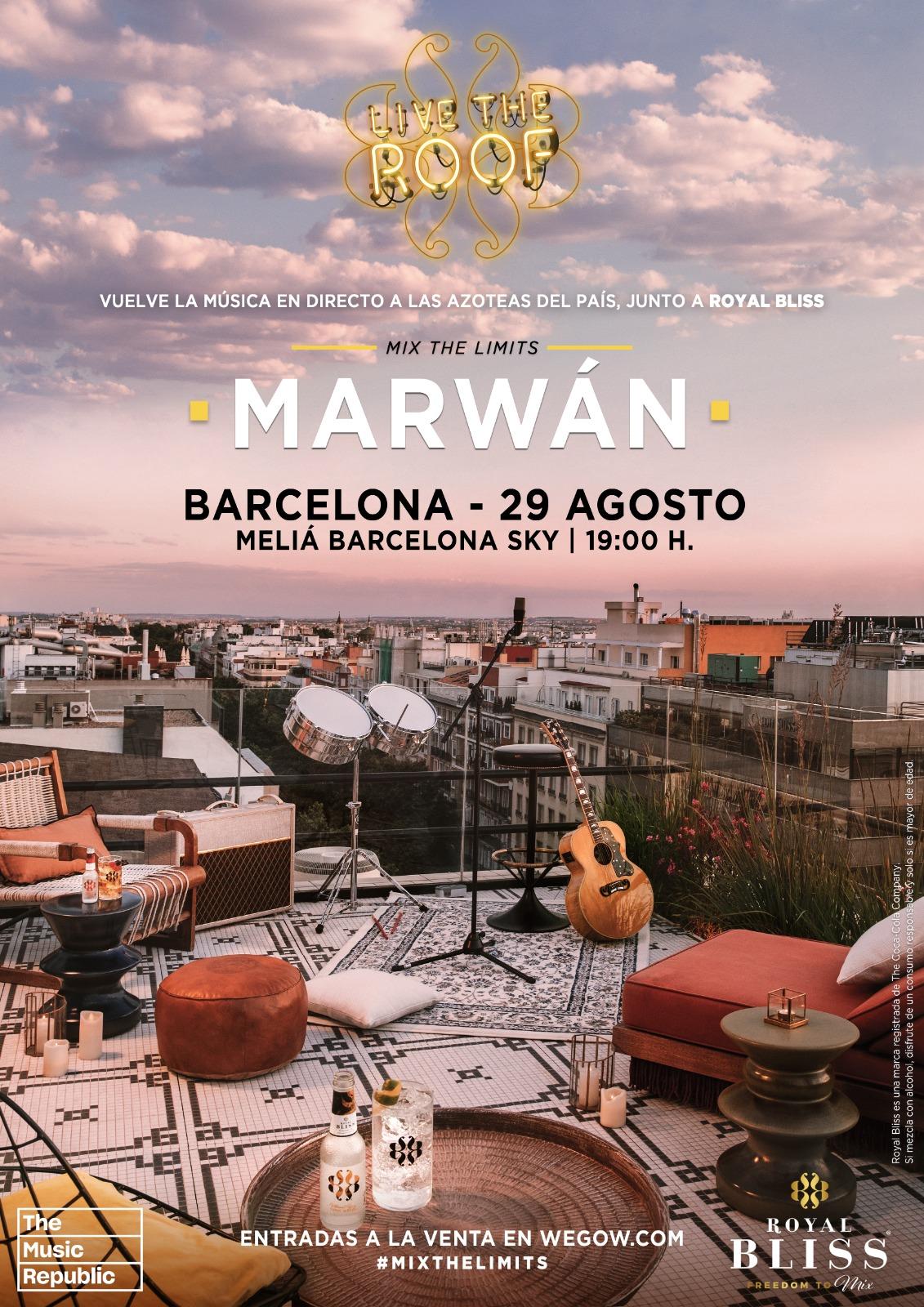 marwan en live the roof barcelona 16238341292052317