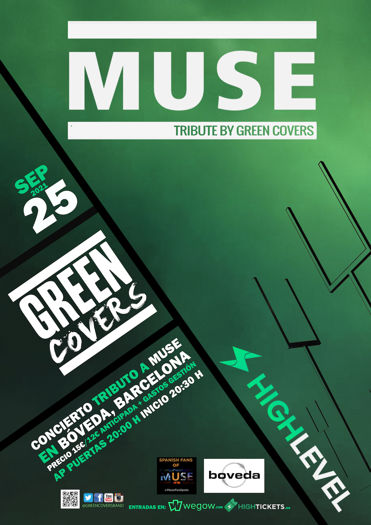muse tribute by green covers barcelona 1625526383499133