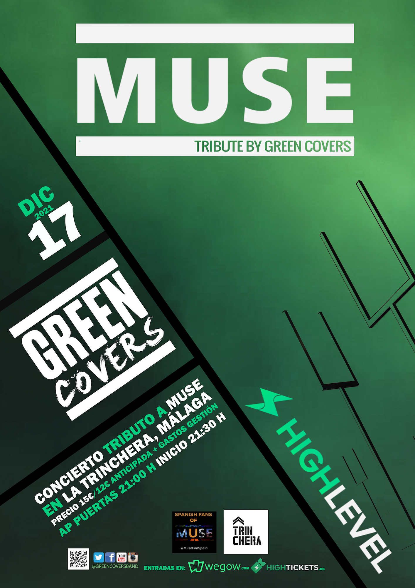 muse tribute by green covers malaga 16255258174218757