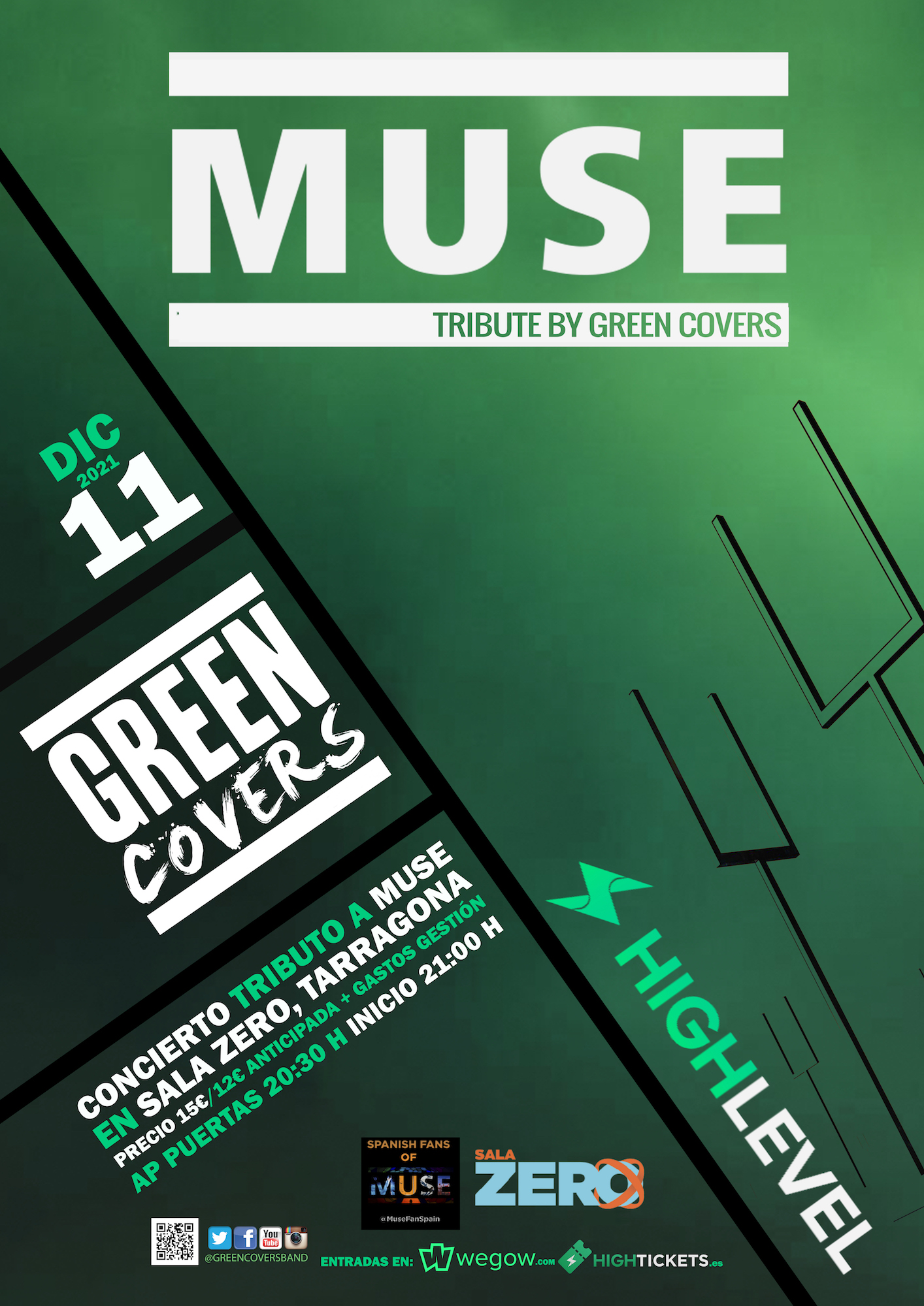 muse tribute by green covers tarragona 16261696763847666