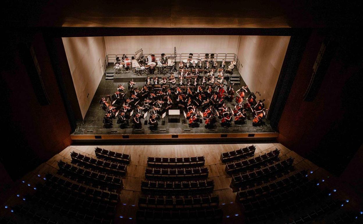 Concierto de la Orquesta Sinfónica de Burgos en el Palacio de la Isla
