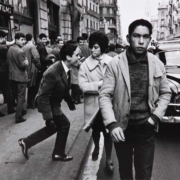 Xavier Miserachs. Sala de fotografía en Real Academia de Bellas Artes de San Fernando en Madrid