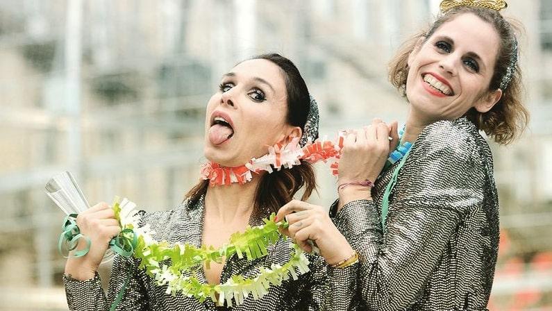 12 uvas, 2 mujeres y una oliva, obra de teatro en Vigo