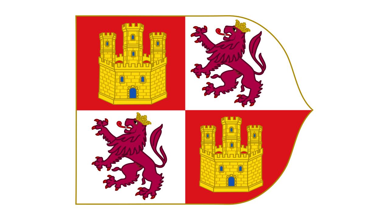 Bandera Corona de Castilla