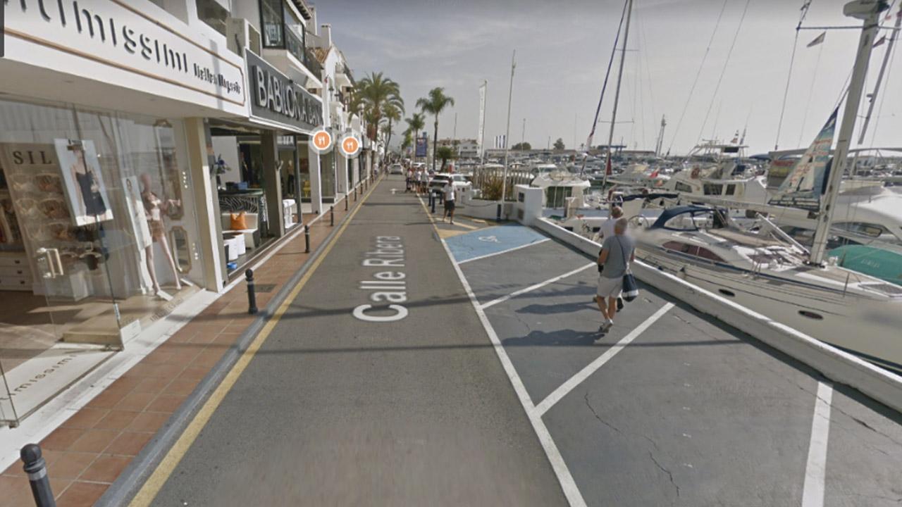 Calle Ribera Marbella Google Maps