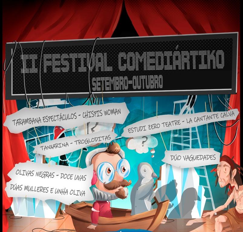 Festival Comediartiko sala Ártika Vigo
