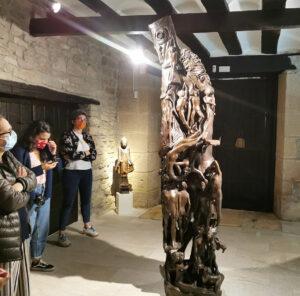 tierras de iranzu esculturas