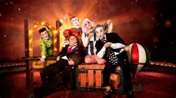 Circo 'Clowns' en el Palacio de los Festivales