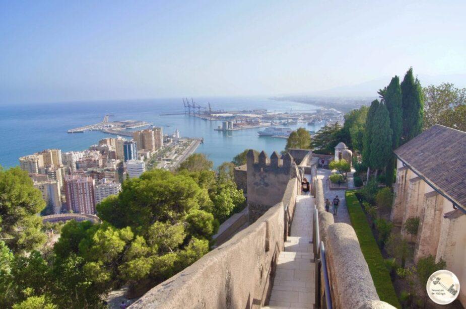 Catillo de Gibralfaro Málaga