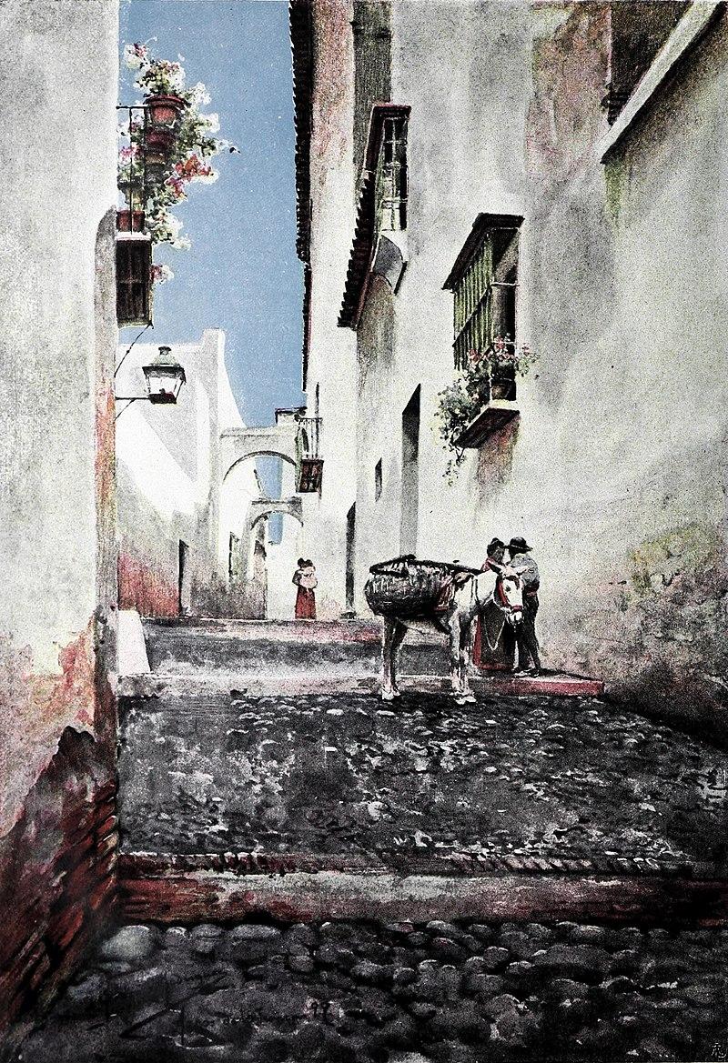 Arcos de la Frontera por Garcia y Rodriguez 1899