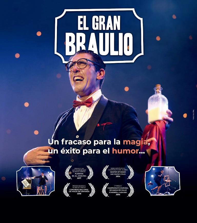 El gran Braulio, magia familiar en el auditorio de Vigo