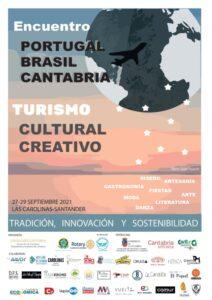 Encuentro Portugal Cantabria Brasil cartel
