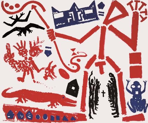 Humano mas humano exposición Coruña A.R. Penck