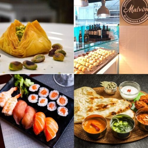 Comida internacional en Murcia