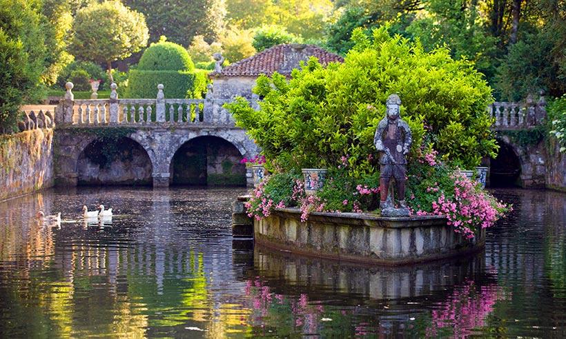 Jardines de las Camelias Pontevedra.