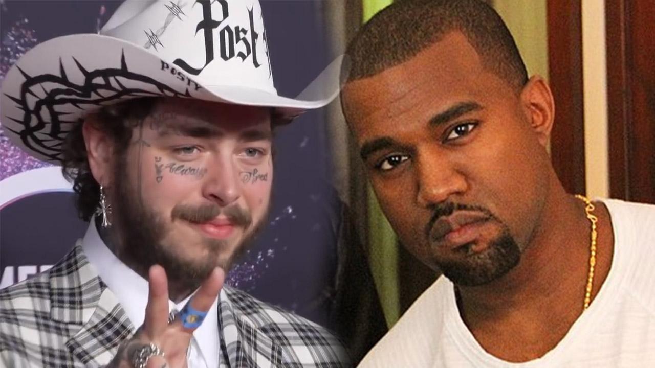 Kanye West y Post Malone