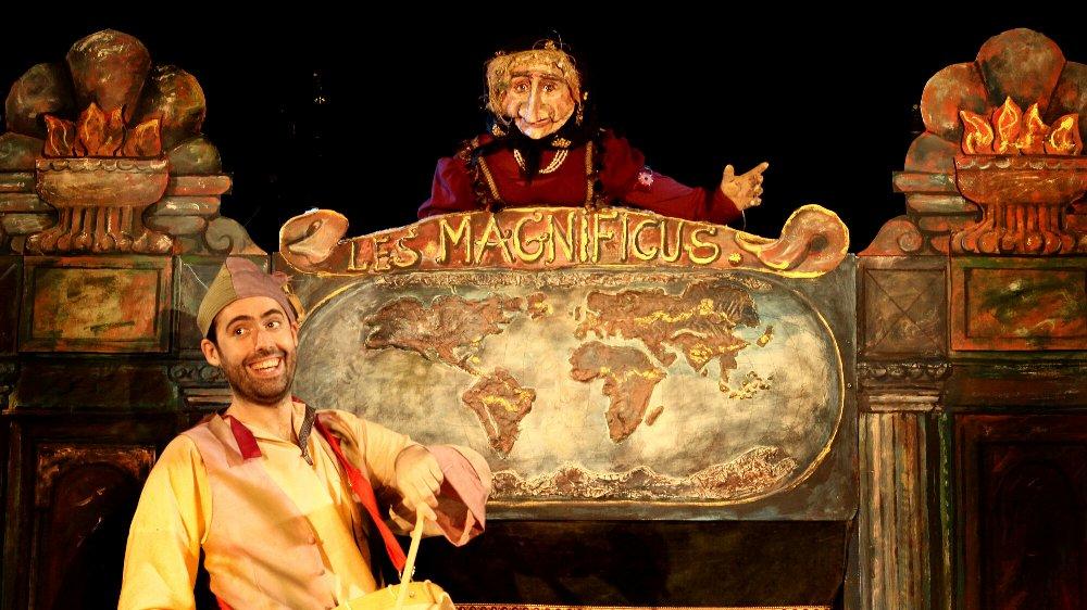 Les Magnificus, títeres para niños en la sala Ártika de Vigo