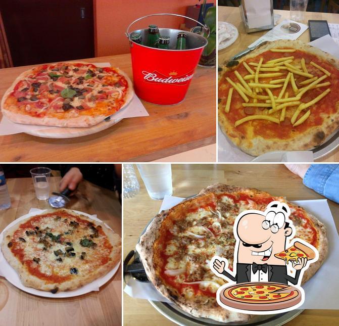 Pizzeria Mano a Mano pizza