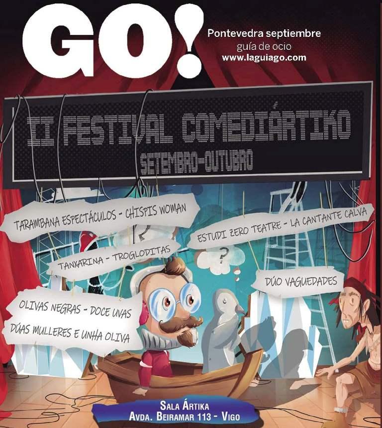 Portada Revista LaGuiaGO Pontevedra septiembre 1
