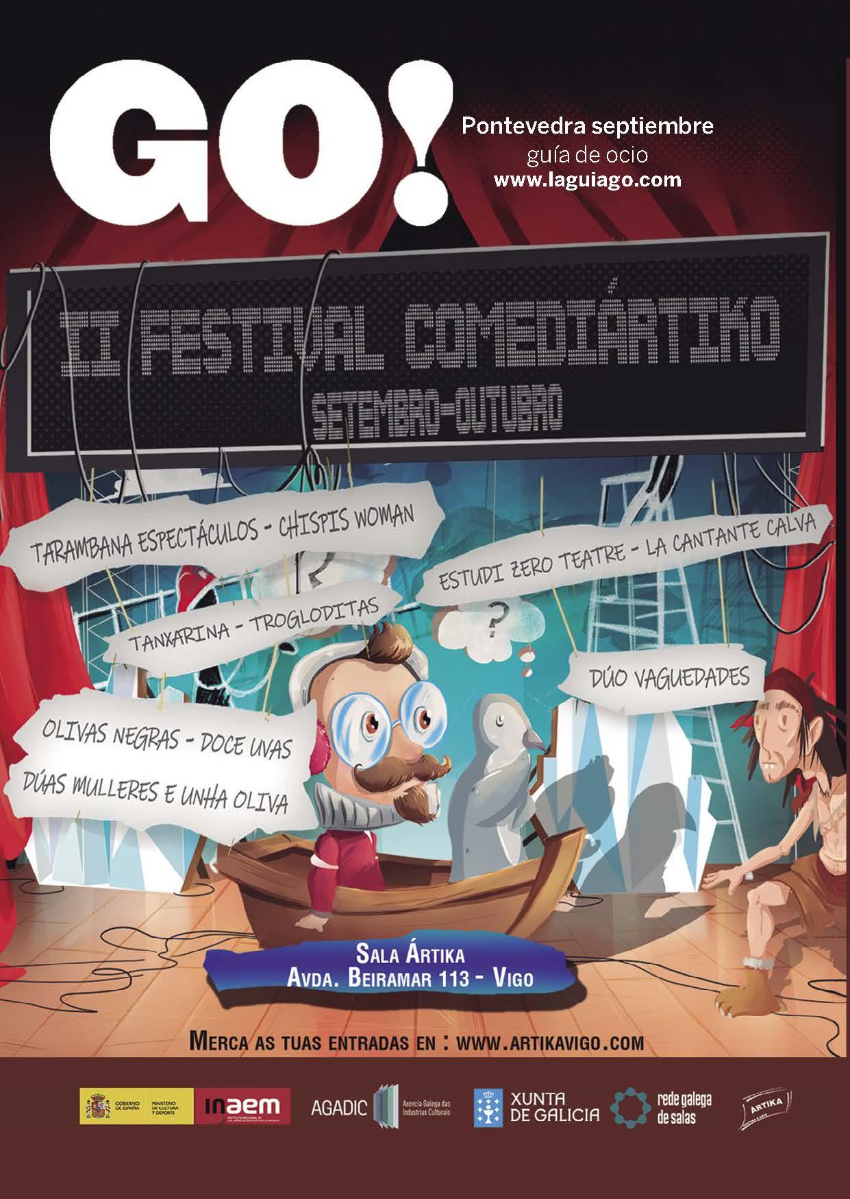 Portada Revista LaGuiaGO Pontevedra septiembre