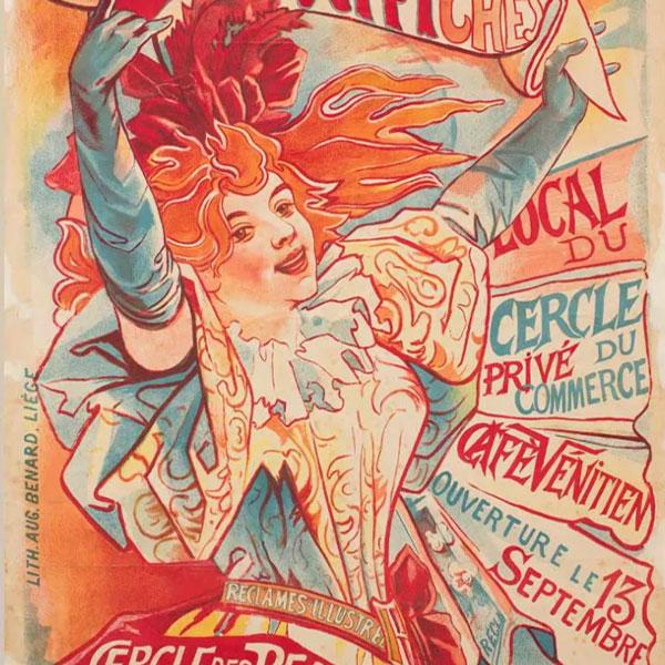 carteles de la vida moderna los origenes del arte publicitario