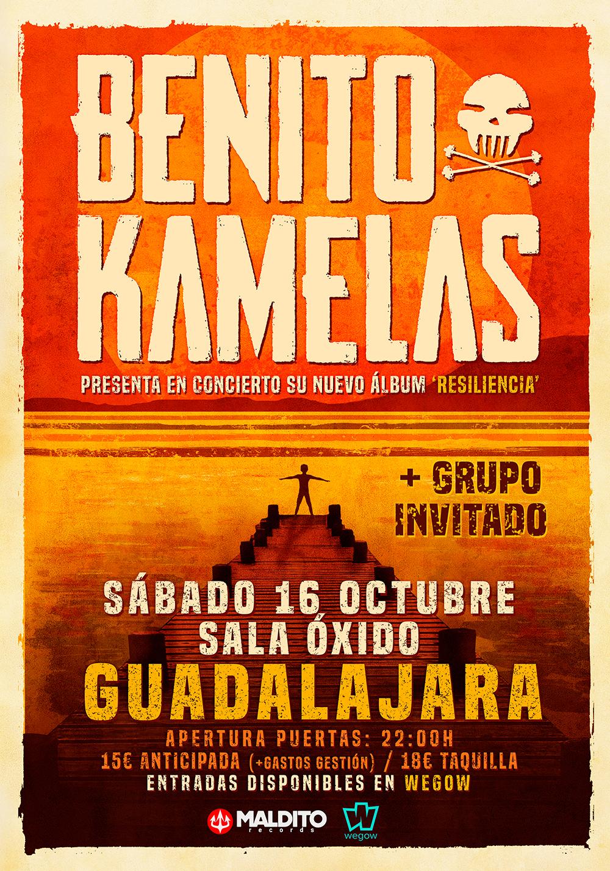 concierto benito kamelas en sala oxido guadalajara 16309454045078096