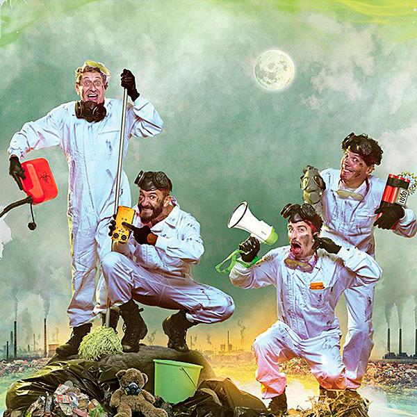 Greenpiss, un desmadre eco-ilógico en Teatro Municipal de Coslada en Madrid