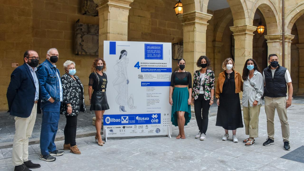 La 4 edición de 'Fashion Kultur Bilbao' da espacio exclusivo a las mujeres creativas en el Museo Vasco