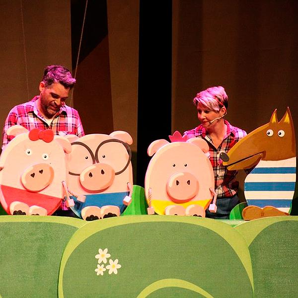 Los 3 cerditos (Dubbi Kids) en Palacio de Exposiciones y Congresos Ciudad de Oviedo en Asturias