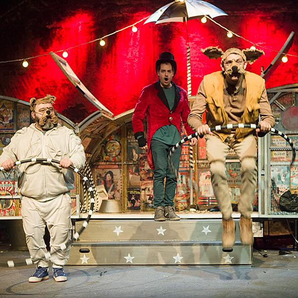 Lunaticus Circus en Teatro Juan Bravo en Segovia