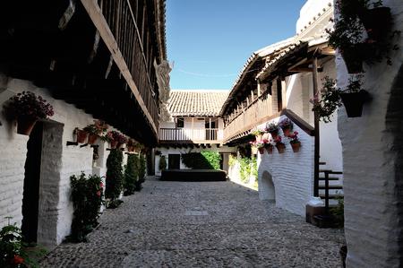 37555458 cordoba espana patio del centro flamenco fosforito en la posada del potro citado por cervantes en el