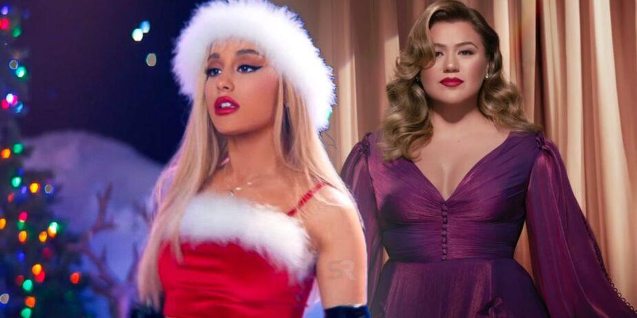 Ariana Grande Kelly Clarkson Christmas Song min