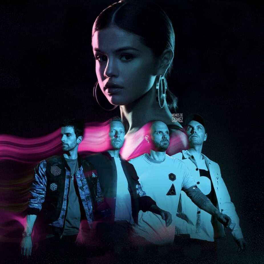 Coldplay Selena Gómez
