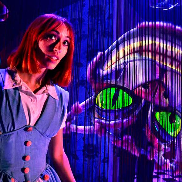 Alicia en el musical de las maravillas en Mira Teatro en Madrid