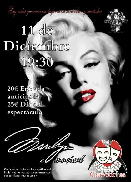 Marilyn: El musical en el Teatro Cervantes