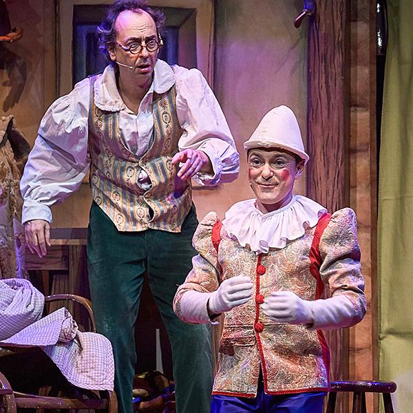 Pinocho en Teatro Alkázar en Cáceres